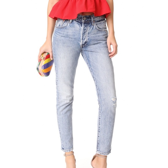 f23ab4c53a21 Levi s Denim - Levi s 501 Skinny Jeans Summer Dune